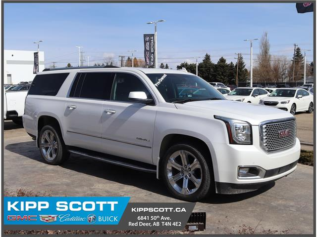 2017 GMC Yukon XL Denali 1GKS2HKJ8HR218206 18206U in Red Deer