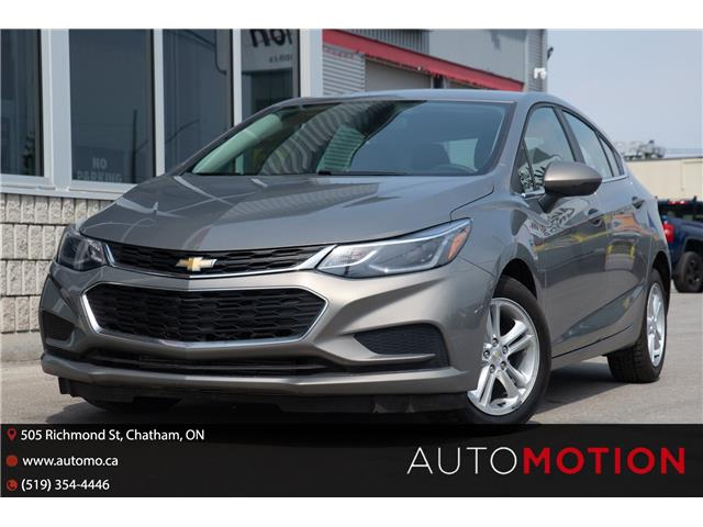 2018 Chevrolet Cruze LT Auto (Stk: 21395) in Chatham - Image 1 of 22
