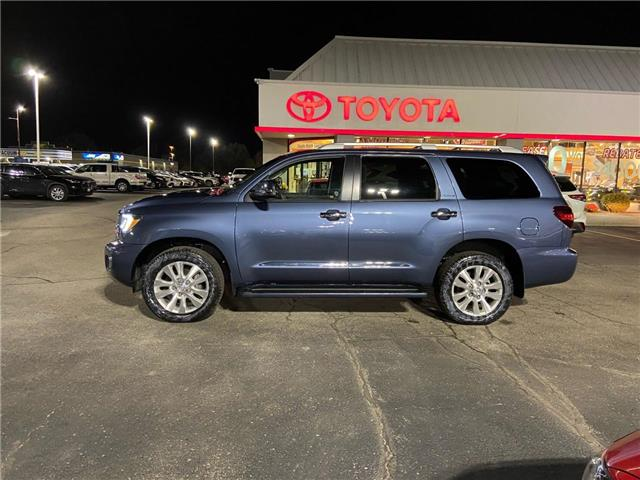 2018 Toyota Sequoia Platinum 5.7L V8 (Stk: 2100611) in Cambridge - Image 1 of 14