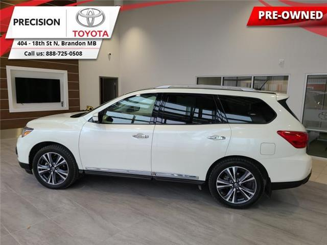 2018 Nissan Pathfinder 4x4 Platinum (Stk: 211761) in Brandon - Image 1 of 30