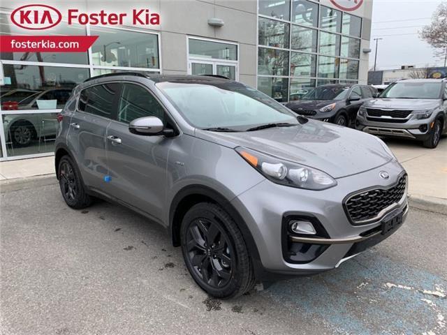 2021 Kia Sportage EX S (Stk: 2111620) in Toronto - Image 1 of 8