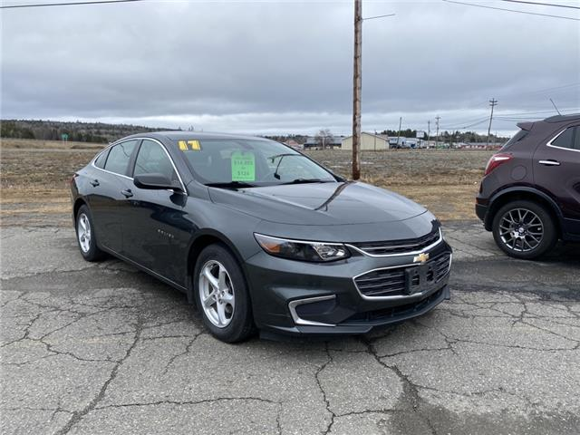 2017 Chevrolet Malibu LS (Stk: 21047A) in St. Stephen - Image 1 of 7