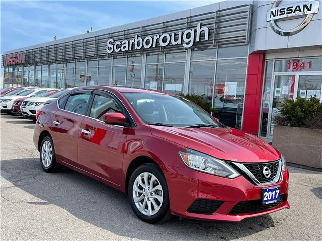 2017 Nissan Sentra 1.8 SV (Stk: C21032A) in Scarborough - Image 1 of 8
