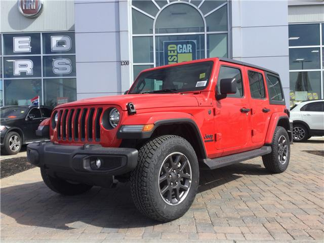 2021 Jeep Wrangler Unlimited Sport (Stk: M00379) in Kanata - Image 1 of 25