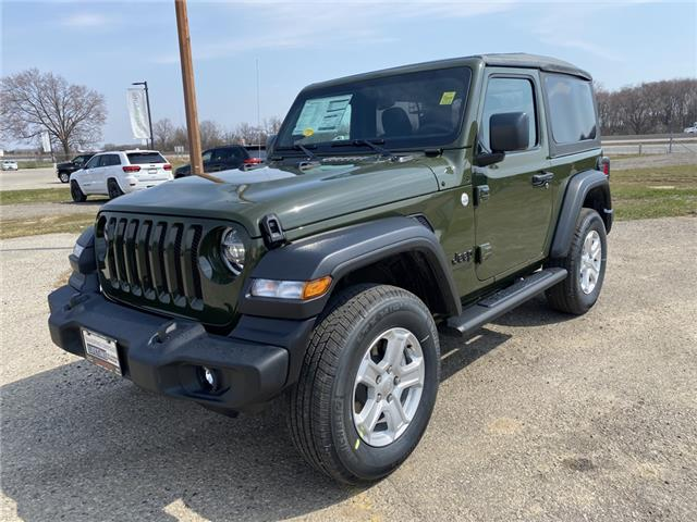 2021 Jeep Wrangler Sport (Stk: 21-158) in Ingersoll - Image 1 of 20
