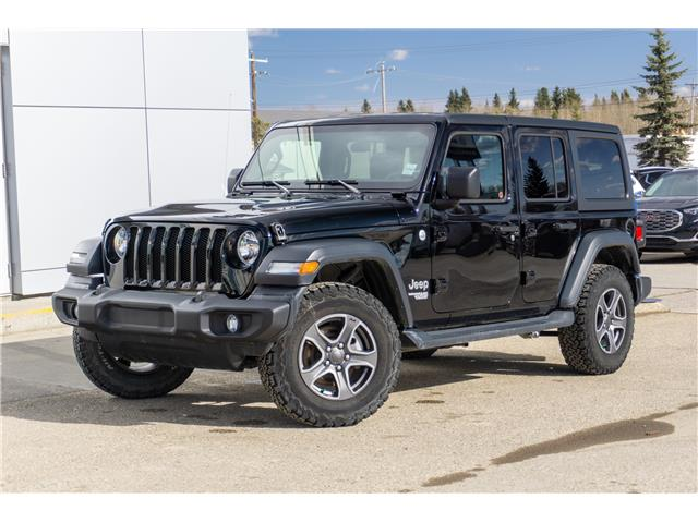 2019 Jeep Wrangler Unlimited Sport (Stk: 21-049A) in Edson - Image 1 of 16