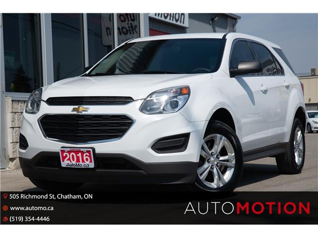 2016 Chevrolet Equinox LS (Stk: 21490) in Chatham - Image 1 of 23