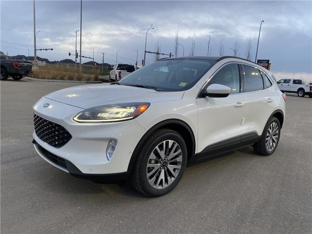 2021 Ford Escape Titanium Hybrid (Stk: MSC009) in Fort Saskatchewan - Image 1 of 23