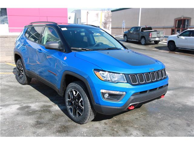 2021 Jeep Compass Trailhawk (Stk: PW1850) in St. John\'s - Image 1 of 21