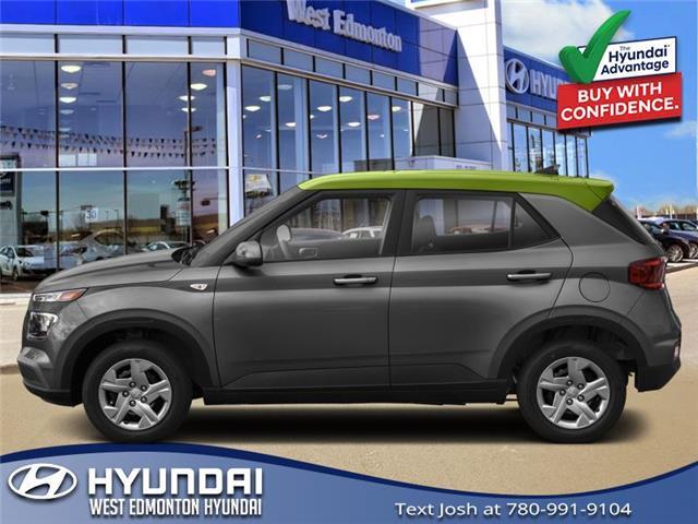 2021 Hyundai Venue Trend w/Urban PKG - Grey-Lime Interior (IVT) (Stk: VN14374) in Edmonton - Image 1 of 1