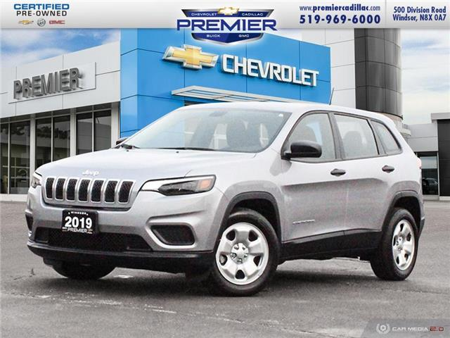 2019 Jeep Cherokee Sport (Stk: 210247A) in Windsor - Image 1 of 27