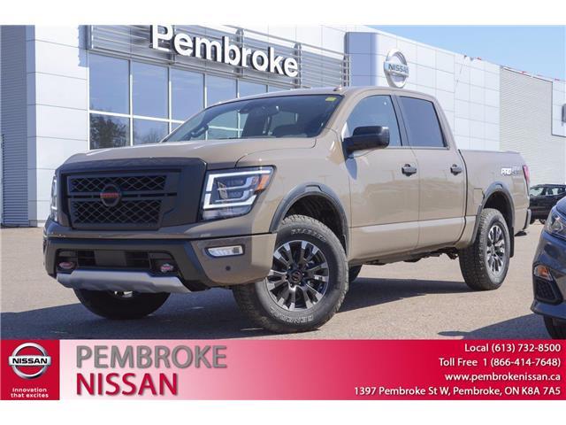 2021 Nissan Titan PRO-4X (Stk: 21073) in Pembroke - Image 1 of 30