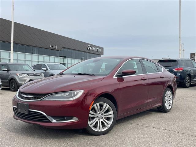 2015 Chrysler 200 Limited (Stk: 37081A) in Brampton - Image 1 of 25