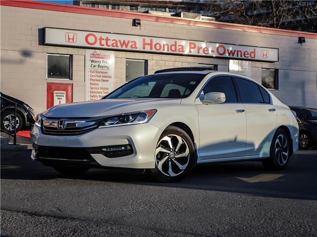 2017 Honda Accord EX-L V6 (Stk: H87890) in Ottawa - Image 1 of 28
