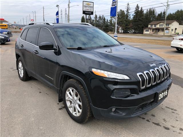 2016 Jeep Cherokee North (Stk: 4282-21AA) in Sault Ste. Marie - Image 1 of 14