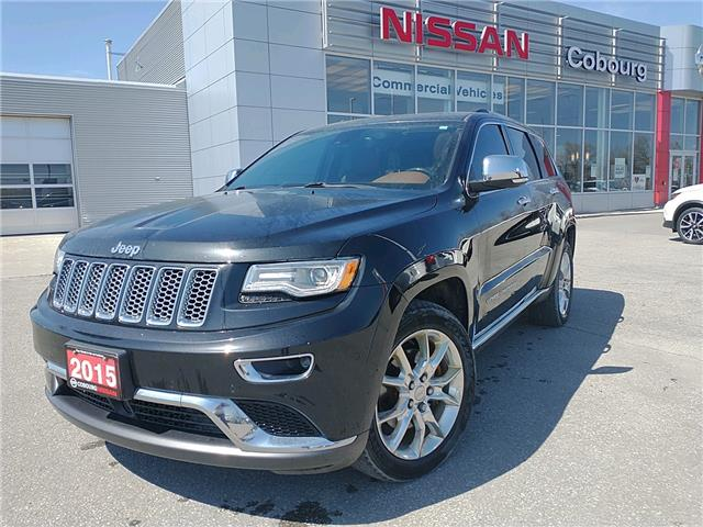 2015 Jeep Grand Cherokee Summit (Stk: CJJ457385A) in Cobourg - Image 1 of 20