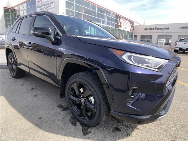 2021 Toyota RAV4 Hybrid XLE (Stk: 210460) in Calgary - Image 1 of 11
