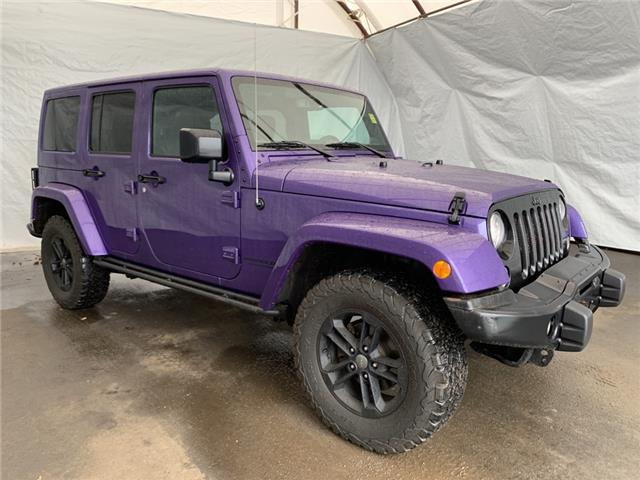 2017 Jeep Wrangler Unlimited Sahara (Stk: 2112211) in Thunder Bay - Image 1 of 15