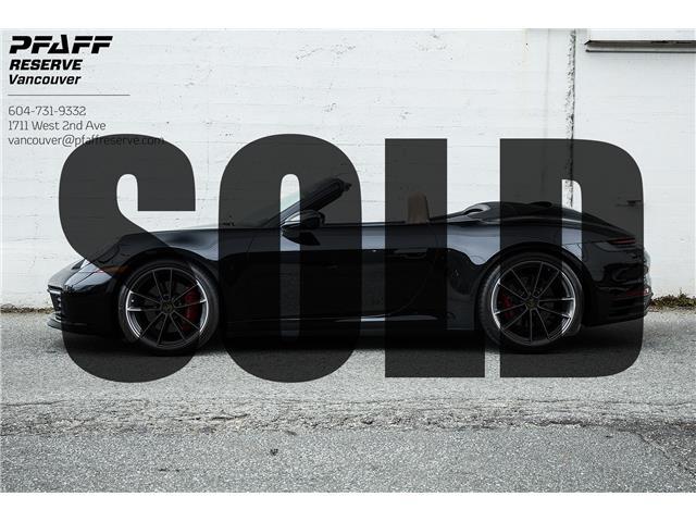 2020 Porsche 911 Carrera 4S (Stk: VU0560) in Vancouver - Image 1 of 21