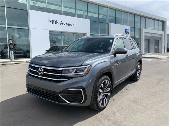 2021 Volkswagen Atlas 3.6 FSI Execline (Stk: 21181) in Calgary - Image 1 of 21