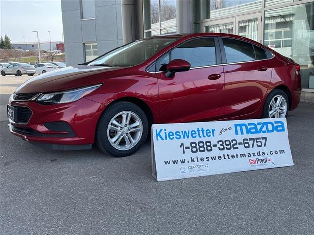 2017 Chevrolet Cruze LT Auto (Stk: 36962A) in Kitchener - Image 1 of 28