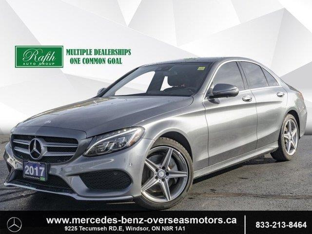 2017 Mercedes-Benz C-Class Base (Stk: PM7763) in Windsor - Image 1 of 24