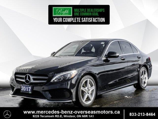 2017 Mercedes-Benz C-Class Base (Stk: PM7898) in Windsor - Image 1 of 22