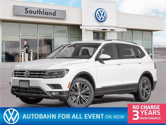 2021 Volkswagen Tiguan Highline (Stk: M21078) in Medicine Hat - Image 1 of 23
