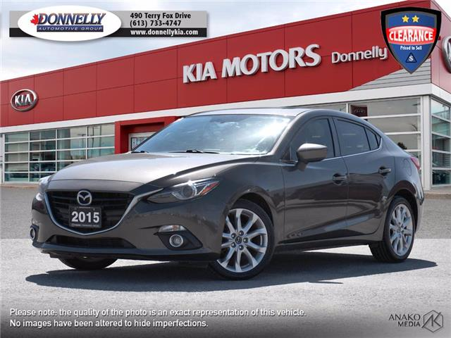 2015 Mazda Mazda3 GT (Stk: KU2505) in Ottawa - Image 1 of 30