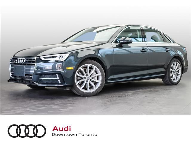 2018 Audi A4 2.0T Progressiv (Stk: P4322) in Toronto - Image 1 of 29