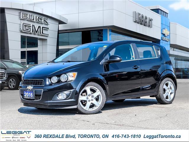 2016 Chevrolet Sonic LT Auto (Stk: T11800A) in Etobicoke - Image 1 of 29