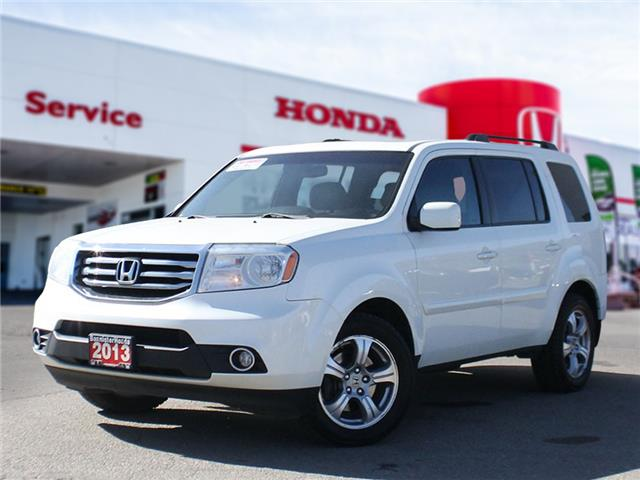 2013 Honda Pilot EX-L (Stk: 21-038A) in Vernon - Image 1 of 21