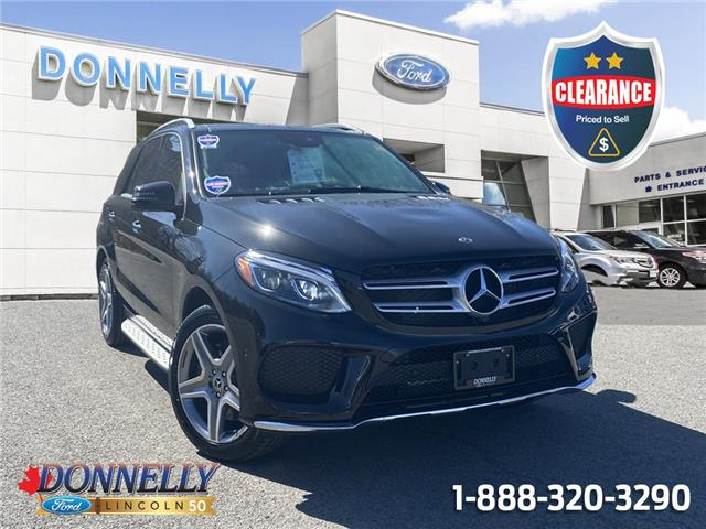 2018 Mercedes-Benz GLE 400 Base 4JGDA5GB0JB096376 CLDV371A in Ottawa