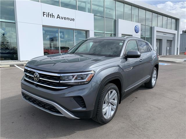 2020 Volkswagen Atlas Cross Sport 3.6 FSI Execline (Stk: 20196) in Calgary - Image 1 of 20