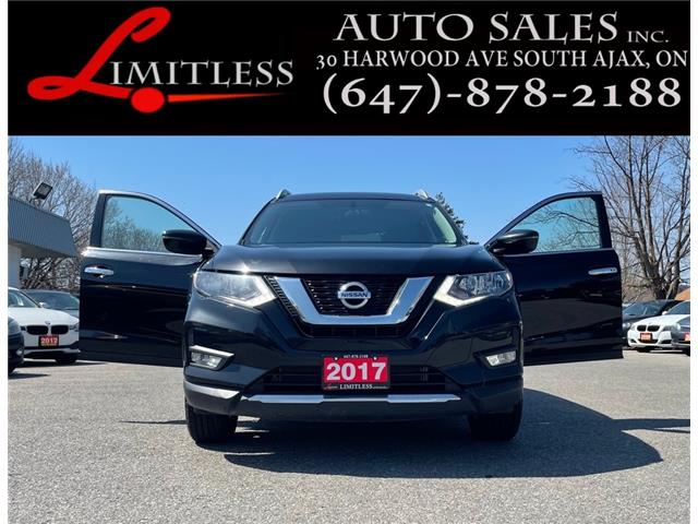 2017 Nissan Rogue SV (Stk: 21-025) in Ajax - Image 1 of 21