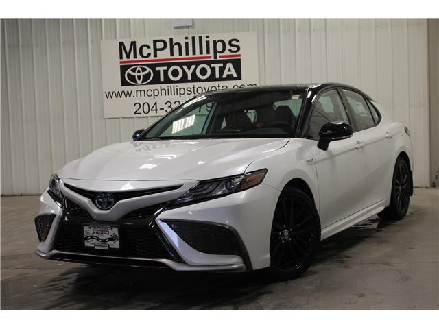 2021 Toyota Camry Hybrid XSE (Stk: U025568) in Winnipeg - Image 1 of 19