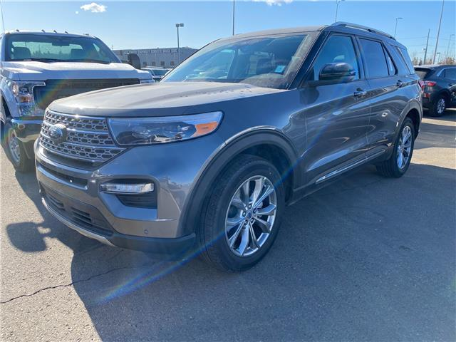 2021 Ford Explorer Limited (Stk: M-645) in Calgary - Image 1 of 6