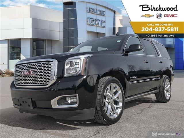 2017 GMC Yukon Denali (Stk: F3WFT2) in Winnipeg - Image 1 of 5