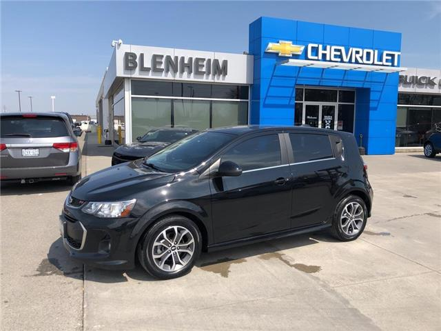 2018 Chevrolet Sonic LT Auto (Stk: M131A) in Blenheim - Image 1 of 18
