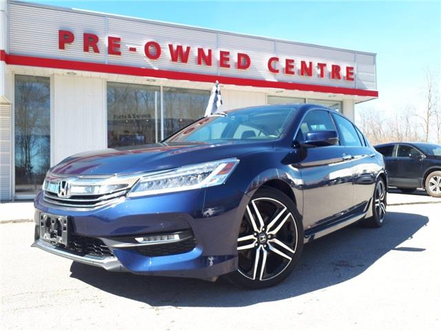 2017 Honda Accord Touring V6 (Stk: 11183A) in Brockville - Image 1 of 30