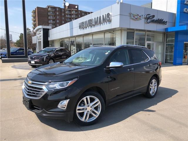 2018 Chevrolet Equinox Premier (Stk: 21044A) in Chatham - Image 1 of 19