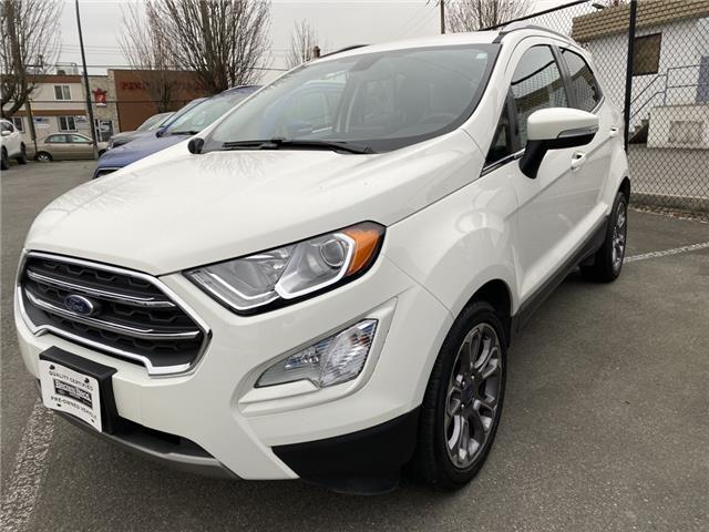 2018 Ford EcoSport Titanium (Stk: 186599) in Vancouver - Image 1 of 21