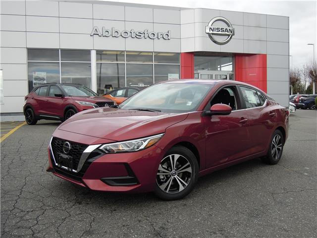 2021 Nissan Sentra SV (Stk: A21115) in Abbotsford - Image 1 of 28
