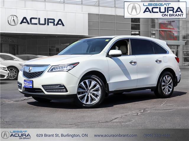 2016 Acura MDX Technology Package (Stk: 22027A) in Burlington - Image 1 of 30