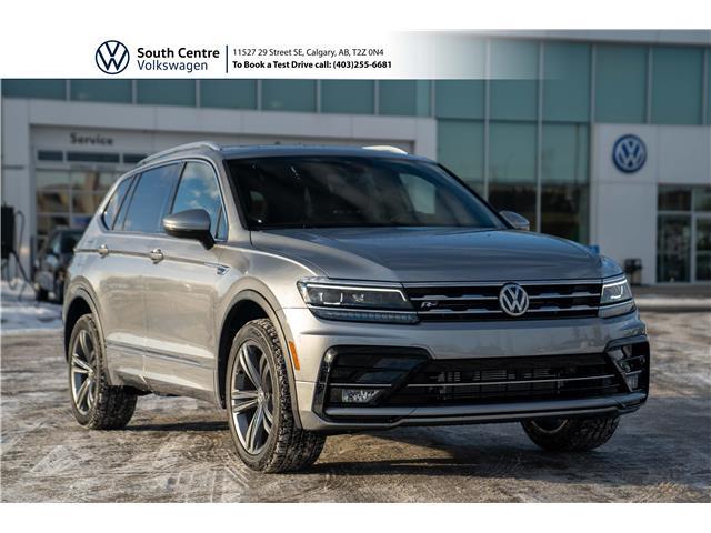 2021 Volkswagen Tiguan Highline (Stk: 10137) in Calgary - Image 1 of 48