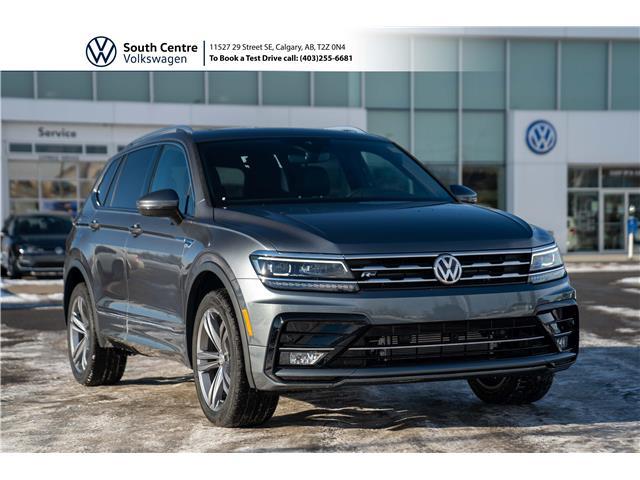 2021 Volkswagen Tiguan Highline (Stk: 10169) in Calgary - Image 1 of 49