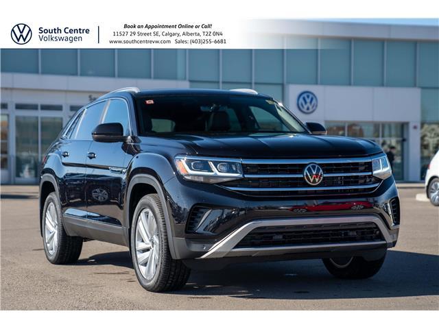 2021 Volkswagen Atlas Cross Sport 3.6 FSI Highline (Stk: 10210) in Calgary - Image 1 of 45