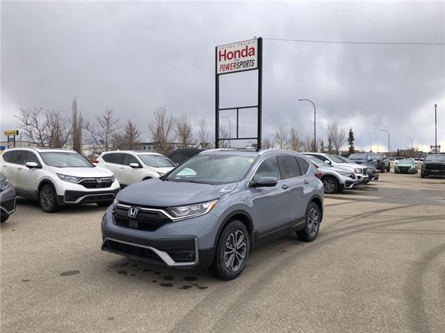 2021 Honda CR-V EX-L (Stk: H14-9553) in Grande Prairie - Image 1 of 22
