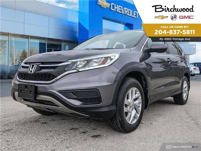 2015 Honda CR-V SE (Stk: F3WN8Y) in Winnipeg - Image 1 of 27