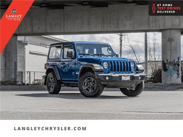2019 Jeep Wrangler Sport (Stk: M679628A) in Surrey - Image 1 of 25